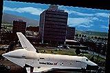 Alabama Space and Rocket Center Huntsville Original Vintage Postcard