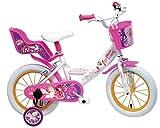 "Mia and Me Vélo Enfant Rose/Blanc 16"""