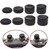 YTTL®Pack of 8 pcs Thumb Grip Thumbstick for PS2, PS3, PS4, Xbox 360, Wii U Controller