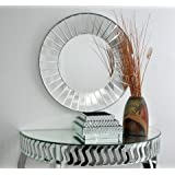 Venetian Design Sun Wall Mirror