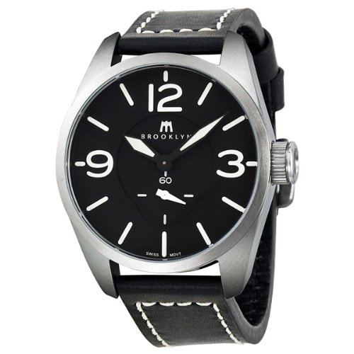 How Do You want Brooklyn Watch Company Lafayette Black Dial