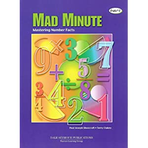THE MAD MINUTE MASTERING NUMBER FACTS GRADES 1-8 (INNOVATIVE LEARNING PRODUCTS)