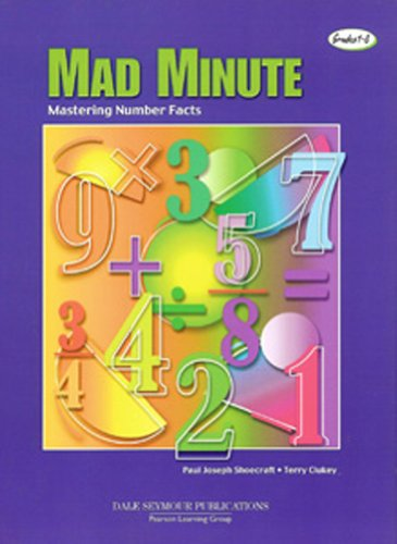 Mad Minute: Mastering Number Facts, Grades1-8 (Math Drill Express compare prices)