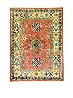 Eden Carpets Alfombra Uzebekistan Rojo/Multicolor 212 x 153 cm