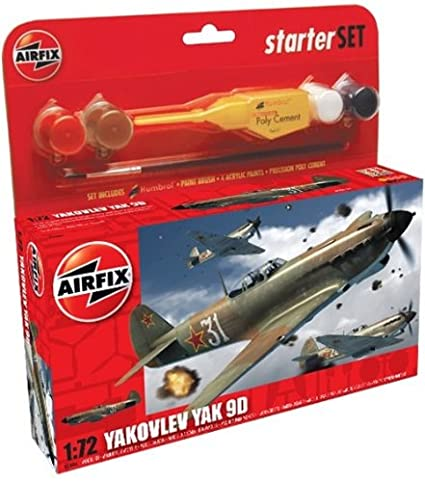 Airfix - A50086 - Maquette - Small Starter Set - Yak 9D