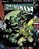 Children's Mini Poster featuring The Iconic Batman and Robin in The Boy Wonder, All Star DC Comic Book Covers 40x50cm