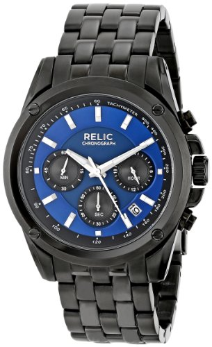 Relic Men's ZR66035 Grant Black Watch