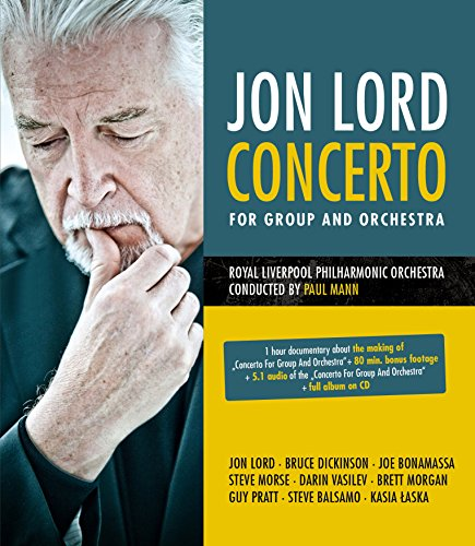 Jon Lord - Concerto for group and orchestra(+CD)