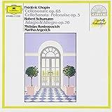 """Sonaten f�r Cello und Klaviervon """"Mstislav Rostropowitsch"""""""