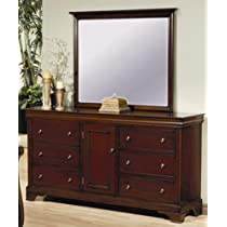 Versailles Dresser and Mirror by Coaster Furniture