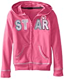 One Step Up Girls 7-16 Glitter-and-Rhinestone Pullover Sweatshirt
