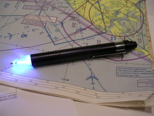 LED Pen, the Pilot's Pen, LED Powered Ink Penlight