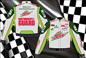 DALE EARNHARDT JR MT DEW GREY ADULT JACKET by RacingGifts