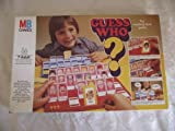 GUESS WHO. VINTAGE 1979 EDITION GAME BY MB GAMES