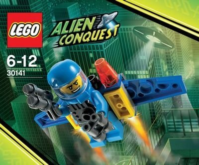LEGO Alien Conquest: ADU Jetpack Set 30141 (Bagged) - 1