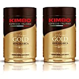 Kimbo Gold Medal Ground Coffee 2 Cans X 8.8oz/250g