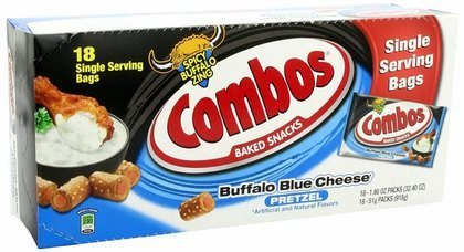 Combos Buffalo Blue Cheese Pretzel Baked Snacks, 18 Count (Buffalo Blue Cheese Combos compare prices)