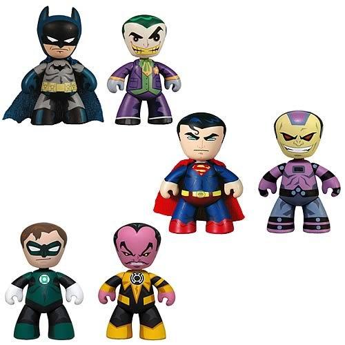 Buy Low Price Mezco DC Universe Mini Mez-Itz 2-Pack Series 1 Figures Set (B004MNYZWU)