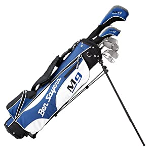 Ben Sayers M9 Men's Half Set Package - Blue/White Right Hand Regular