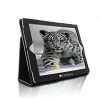 SANOXY® Slim FOLIO Folder PU Leather Stand Case for iPad 2/3/4 /ipad 2nd Generation (BLACK FOLIO) by SANOXY