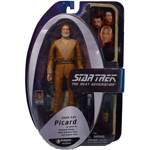 Star Trek The Next Generation Action Figure All Good Things Jean-Luc Picard