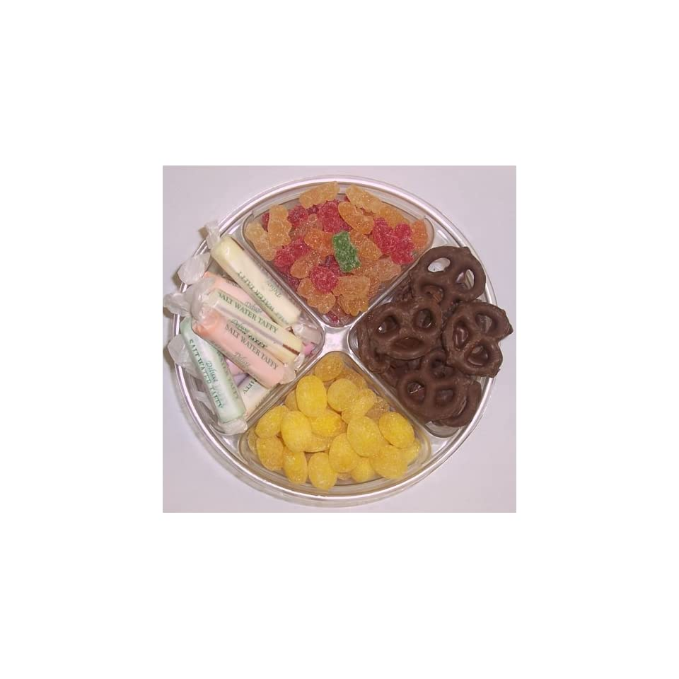 Scotts Cakes 4 Pack Sour Gummie Bears, Salt Water Taffy, Lemon Drops