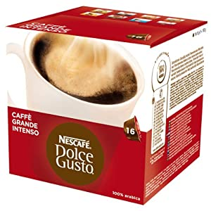 Choose Nescafé Dolce Gusto Caffè Grande Intenso, 16 Capsules - Nestlé