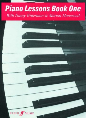 Piano Lessons: Bk. 1 (Waterman & Harewood Piano Series)