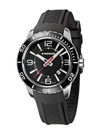 Wenger-010851117-Mens-Roadster-Stainless-Steel-Case-Silicone-Strap-Black-Dial-Silver-Watch