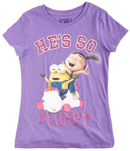 Despicable Me Big Girls He's So Fluffy T-Shirt