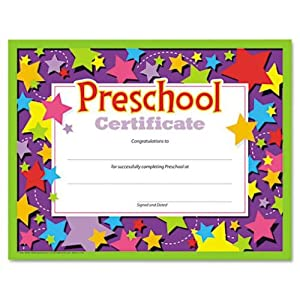 Eloquent image intended for preschool certificates printable