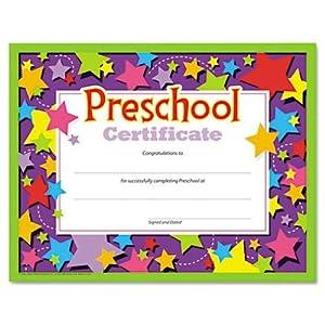 Priceless image throughout preschool certificates printable