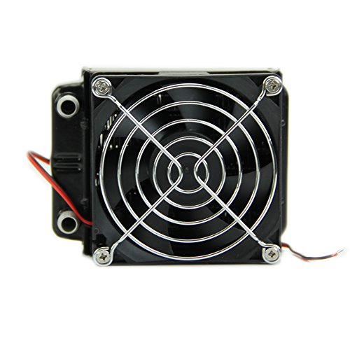 Ystd® 80Mm Aluminum Water Cooling Cooler Computer Fans Radiator For Cpu Led Heatsink