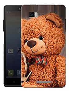 "Cute Soft Teddy Bear Printed Designer Mobile Back Cover For ""Lenovo Vibe P1"" By Humor Gang (3D, Matte Finish, Premium Quality, Protective Snap On Slim Hard Phone Case, Multi Color)"