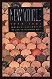 New Voices: Selected University & College Prize-Winning Poems 1979-1983