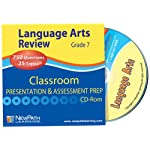 NewPath Learning Language Arts Interactive Whiteboard CD-ROM, Site License, Grade 7