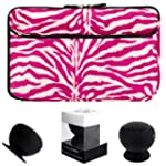 Fun Animal Zebra Fur Plush Design Car...