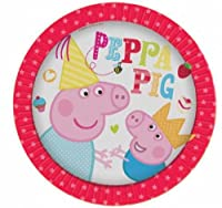 Peppa Pig Red Party Plates from Party Plus