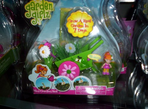 Summit Toy Educational Products - Garden Girlz Mini Garden Set - Lilly Bloom -