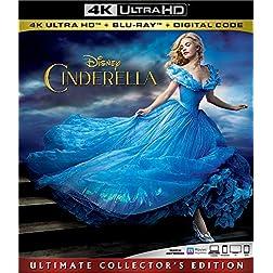 Cinderella [4K Ultra HD + Blu-ray]