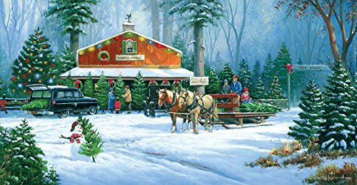 Holiday Tradition a 500-Piece Jigsaw Puzzle by Sunsout Inc.