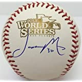 Jason Motte St. Louis Cardinals Autographed 2011 World Series Baseball by Sports Memorabilia