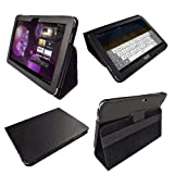 IGadgitz Black 'Portfolio' PU Leather Case Cover for Samsung Galaxy Tab P7500 P7510 10.1 3G & WiFi Android 3.1 Honeycomb Internet Tablet