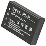 High Quality Xylo Replacement Rechargable Lithium Li-on Digital Camera Battery NP-120 for Fuji FUJIFILM FinePix 603, M603, M603 Zoom, F10, F10 Zoom, F11, F11 Zoom , Compatible Part Numbers: NP-120