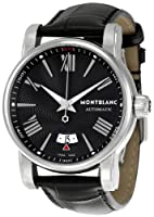 Montblanc Men's 102341 Star Black Dial Watch from Montblanc