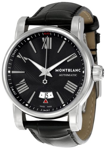 Montblanc Men's 102341 Star Black Dial Watch