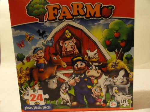 Farm Theme 24 Piece Jigsaw Puzzle by Farm 58