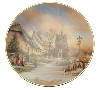 Davenport For All Time December plate Marji Daisley - 6 inch diameter - CP1494