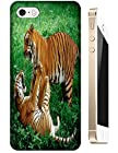 Lovely Power Tigers Cases Covers Phone Hard Back Cases Beautiful Nice Cute Animal hot selling cell phone cases for Apple Accessories iPhone 5/5S # 21