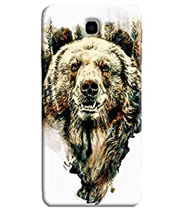 Blue Throat Printed Designer Back Cover For Samsung Galaxy On7 2016